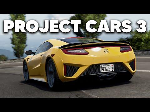Состоялся анонс Project CARS 3: первый геймплей и подробности