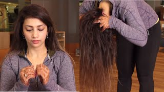Exercises for Hair Growth, Long and Voluminous Hair