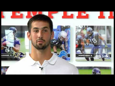 Temple Made:  Brandon McManus
