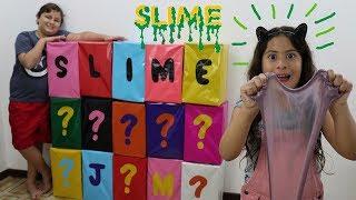 CAIXA MISTERIOSA DE SLIME ★ MYSTERY BOX GIANT KIDS SLIME SURPRISE