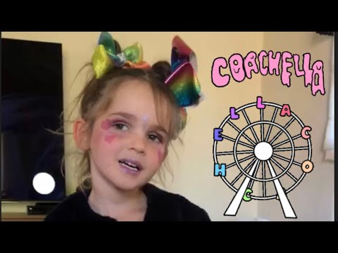 4 Year Old Mila Is Going To Coachella!!!