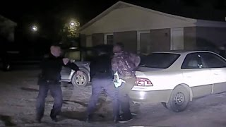 Officer's shooting caught on camera