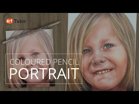 Coloured Pencil Tutorial - Photo-Realistic Portrait thumbnail