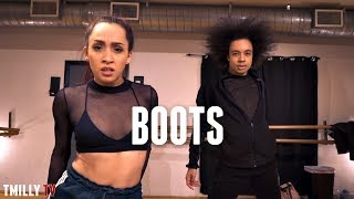 KESHA - Boots - Choreography by Tevyn Cole & Deborah Verberkt | #TMillyTV