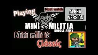 MiniMilitia CLASSIC full vesion will come soon_Doodle army 2