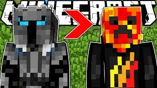 HOW TO BECOME ANY YOUTUBER IN MINECRAFT - MINECRAFT MODDED HIDE AND SEEK