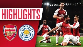 WHAT A NIGHT Arsenal 4 - 3 Leicester City  Goals and Highlights