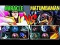 Miracle- [Invoker] vs Matumbaman [Alchemist] Dota2- 9k vs 9k► M-GOD is too Amazing!