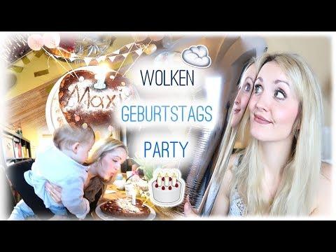 ERSTER GEBURTSTAG | Food, Deko & Geschenkideen | Wolken Party | Annis Blog