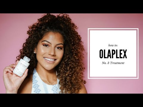 OLAPLEX No. 3 Treatment On Bleached Highlighted Curls!