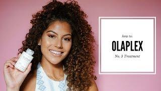 OLAPLEX No. 3 Treatment on Bleached Highlighted Curls!