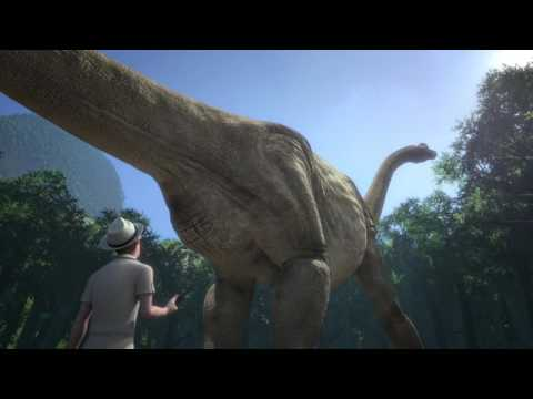 The Lost World 4D Film Trailer (Paultons Park)