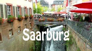 Städtereisen in die ältesten Städte Europas ... . Saarburg, Deutschland