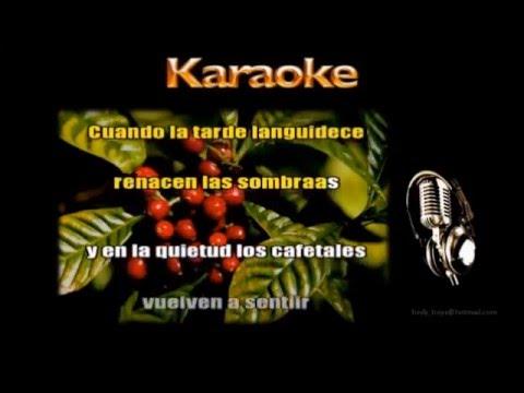 Karaoke - Moliendo Café -  Autor: Hugo Blanco  - Voz Mujer