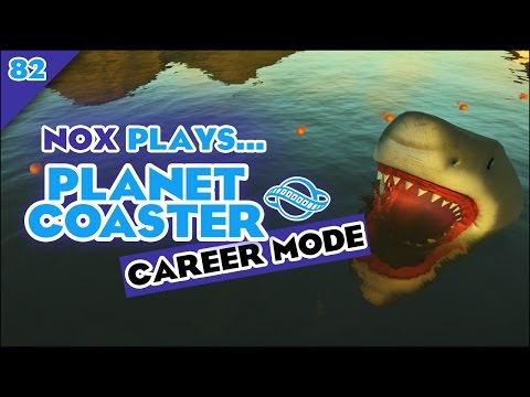Nox Plays... Planet Coaster 1.2: Career Mode | #82: Chief Beef's Raceway, Pt. 1