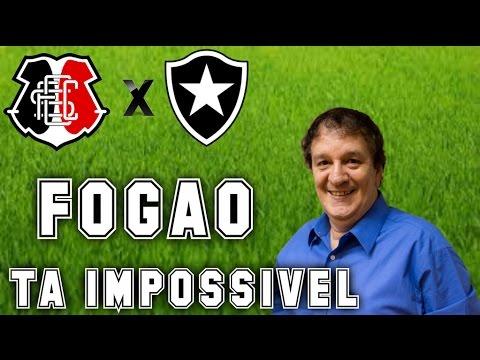 Gol De Santa Cruz 0 x 1 Botafogo (Luiz Penido) Rádio Globo/CBN - Série A - 19/10/2016