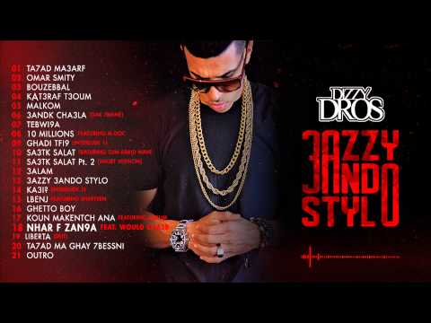 18 - Dizzy DROS - Nhar F Zan9a (feat. Would Chaab) [Explicit]