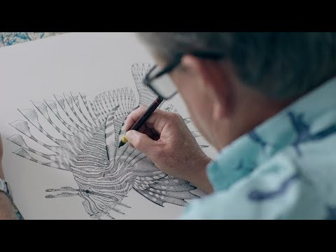 Artist Guy Harvey Captures Life Under the Sea
