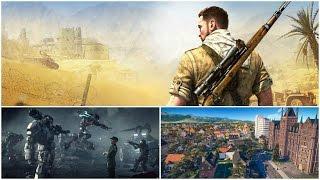 Продажи ПК игр поставили новый рекорд, первая миссия Sniper Elite 4 | Игровые новости