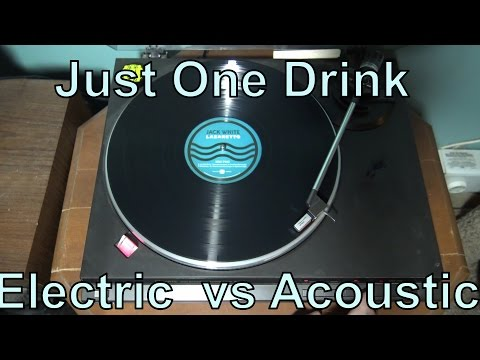 "Lazaretto ""Just One Drink"" Electric vs. Acoustic Intro"