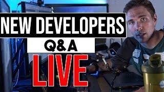 🔴New Dev Q&A   Daily Standup   @joshuafluke everywhere