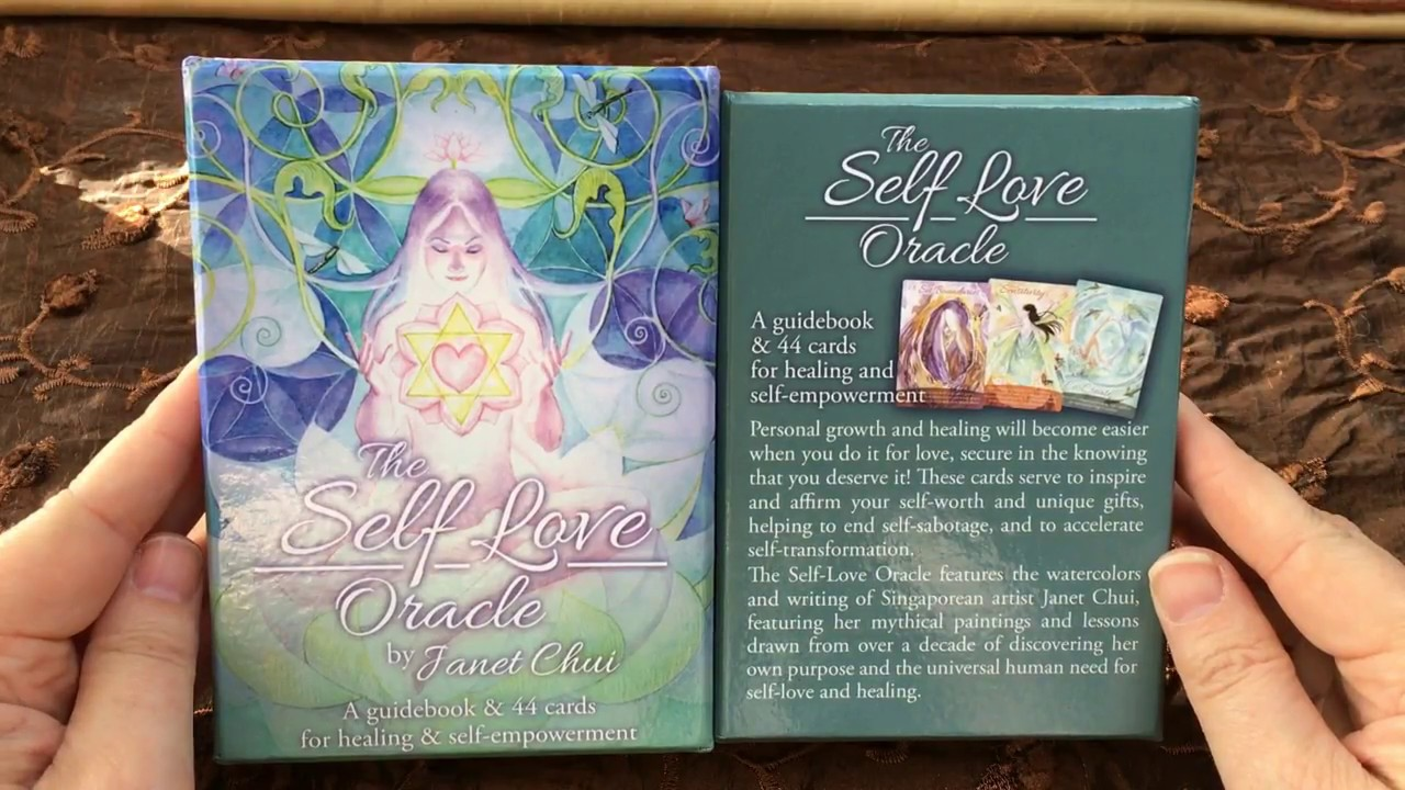Self Love Oracle by Janet Chui | Flip Through Card Review