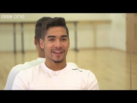 Louis Smith & Flavia Cacace's First Rehearsal - Strictly Come Dancing 2012 - BBC One
