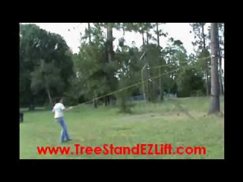 Tree Stand Ez Lift Youtube