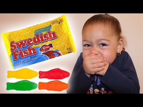 Swedish Fish TASTE TEST (CANDY/SWEETS)