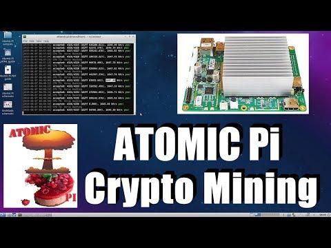 Crypto Mining On ATOMIC Pi