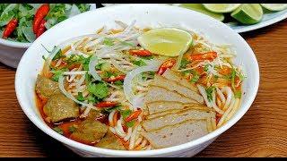 Vietnamese Spicy Beef Noodle Soup Recipe (Bún Bò Huế) - NPFamily Recipes
