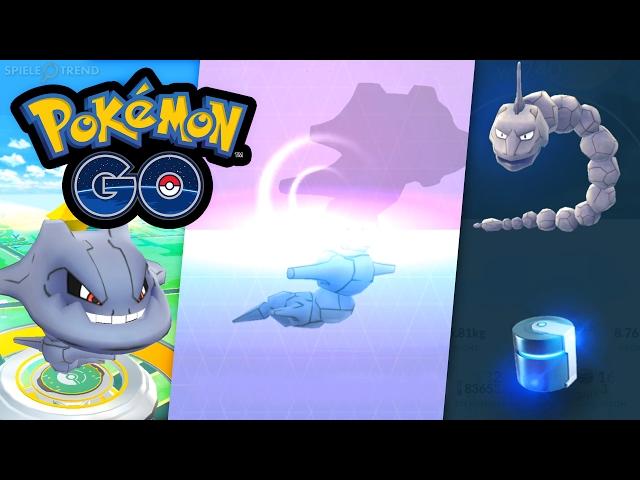 Stahlos = Metallmantel + Onix | Pokémon GO Deutsch #214