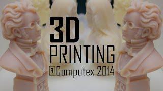 XYZ 3D Printers - Computex 2014