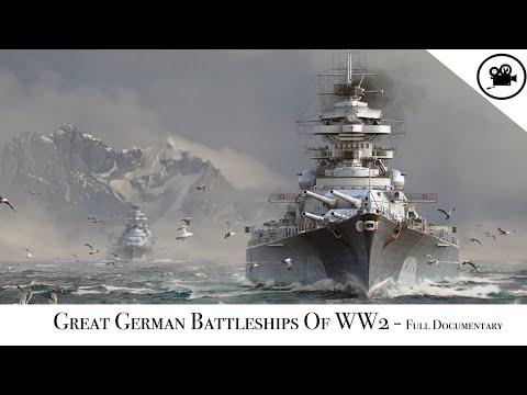 Great German Battleships Of WW2 - Full Documentary