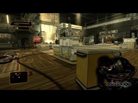 Deus Ex: Human Revolution - Stealth Gameplay (PC, PS3, Xbox 360)