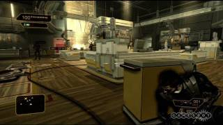 Deus Ex: Human Revolution - Stealth Gameplay (PC, PS3, Xbox 360)