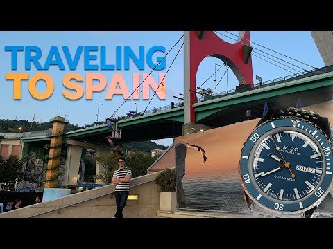 Traveling To Spain & Reviewing The NEW Mido Ocean Star Tribute