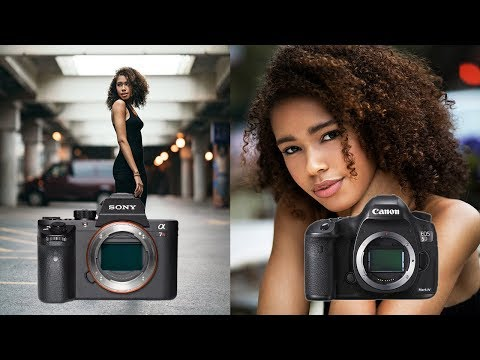 Sony A7RII Vs 5D Mark IV Portrait Shootout! Which Is A Better Option For Portraits?