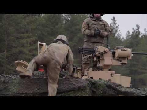 ВС Литвы показали видео танковых стрельб США на границе с Белоруссией