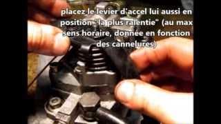 Remontage Pompe Injection BOSCH VE (fabrication 1.9 TDI-m base JX)