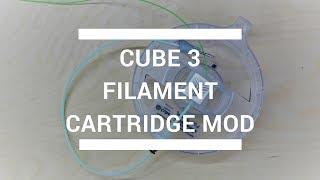 Cube 3 Filament Cartridge Mod