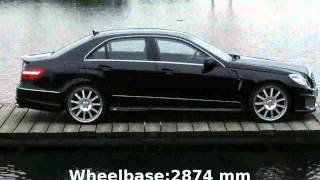 2011 Mercedes-Benz E 250 CDI BlueEFFICIENCY Specification, Technical Details