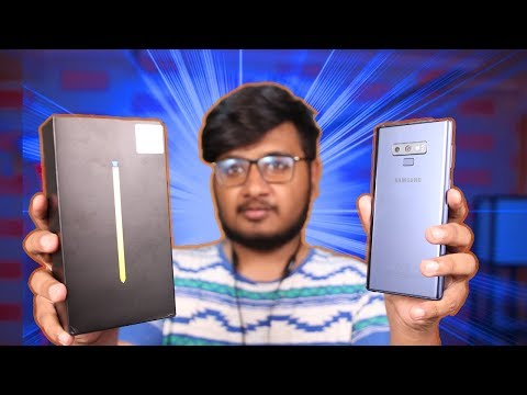 Samsung Galaxy Note 9 Unboxing | Samsung Ka Cheeta!!
