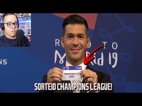 Sorteio da CHAMPIONS LEAGUE – Confrontos DEFINIDOS Fase FINAL!
