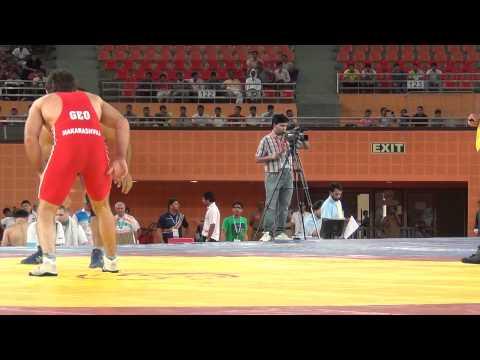 Narsingh Yadav Vs Georgian Wrestler
