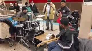 New years jam by the Red line lounge band, Chicago!(Check out the transition to the kid on the drums..., 2016-01-01T03:51:38.000Z)