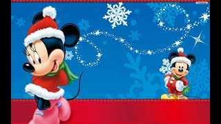 Disney Christmas Music Carols and Songs Medley with Mickey Mouse 2