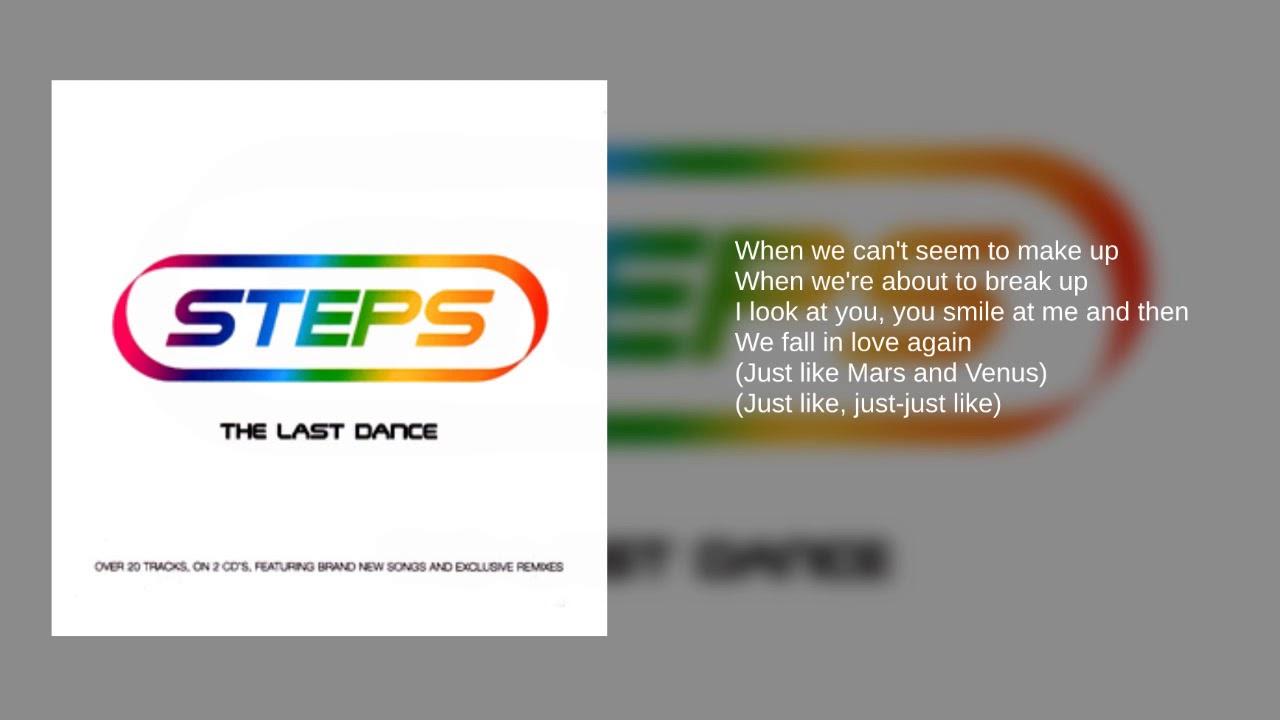 Steps: Mars and Venus (We Fall In Love Again) (Lyrics)