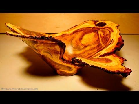 """Tokar Art 60 Woodturning """"Treasure"""""""