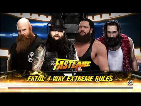 WWE 2K16 | Bray Wyatt vs Braun Strowman vs Erick Rowan vs Luke Harper